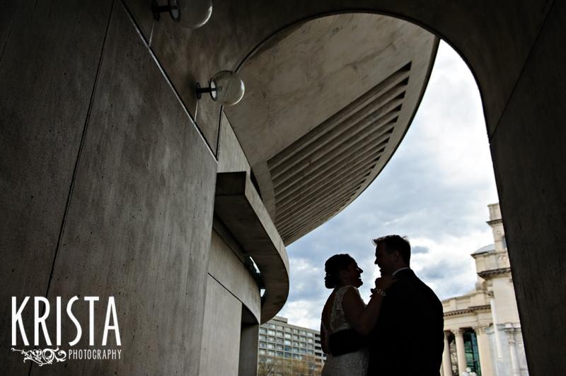 Wedding Portrait Silhouette