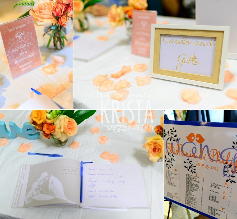 pastel details and wedding cards © Krista Photography