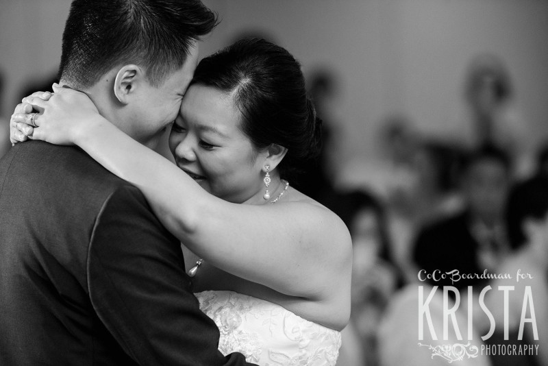 couple's first dance © Krista Photography