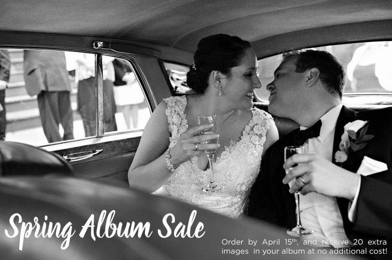 Krista Photography Spring Wedding Album Sale - Boston wedding photographer