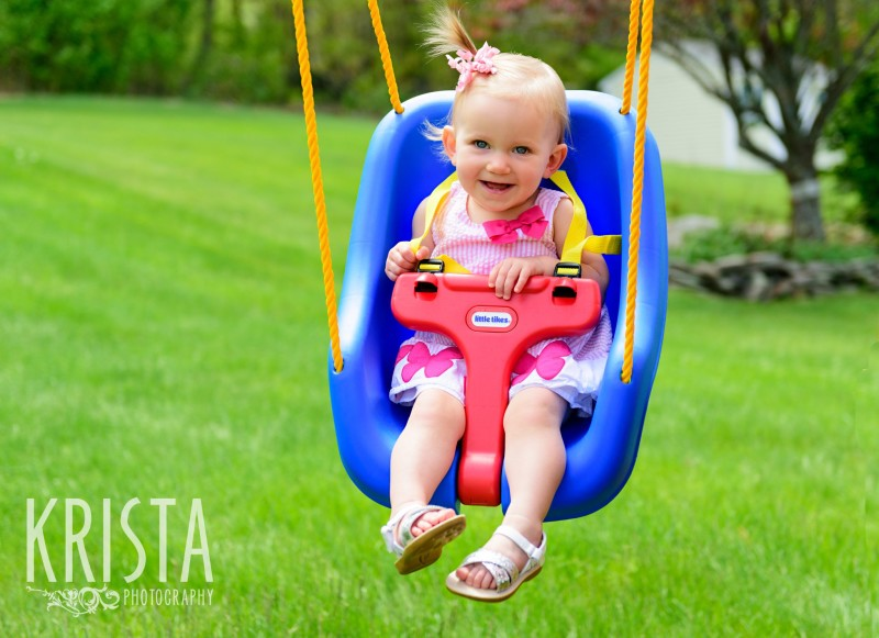 Baby Girl, Year in the Life, Happy Baby, Smiles, Play Time,© Krista Photography, Boston Photographer