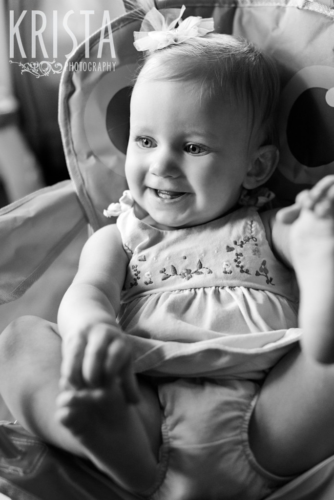 Baby Girl, Year in the Life, Happy Baby, Smiles, © Krista Photography, Boston Photographer
