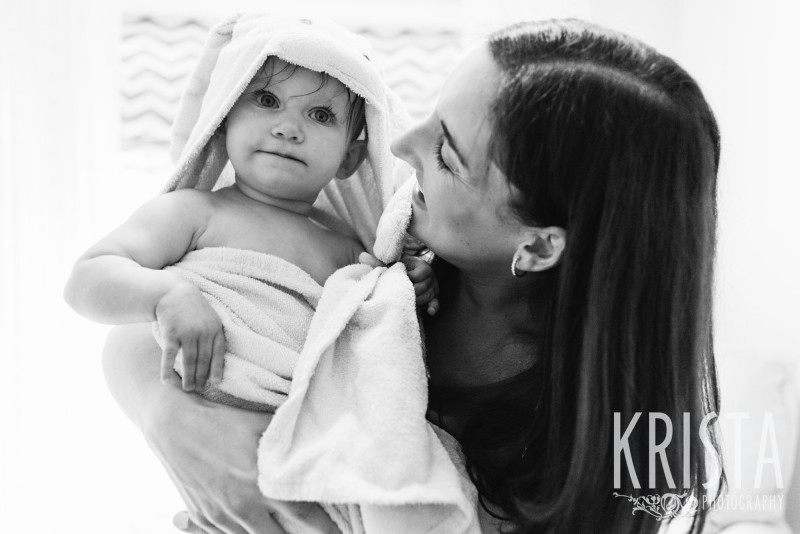 Baby Girl, Year in the Life, Mother and Daughter, Smile, © Krista Photography, Boston Photographer