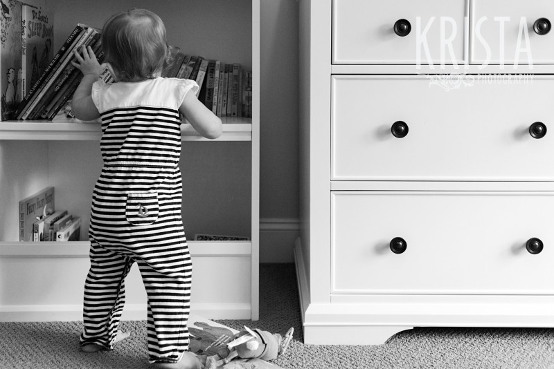 Baby Girl, Year in the Life, © Krista Photography, Boston Photographer