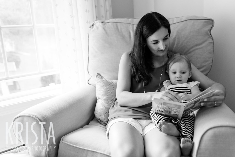 Baby Girl, Year in the Life, Mother and Daughter, © Krista Photography, Boston Photographer