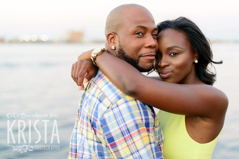 Boston Seaport Engagement Session