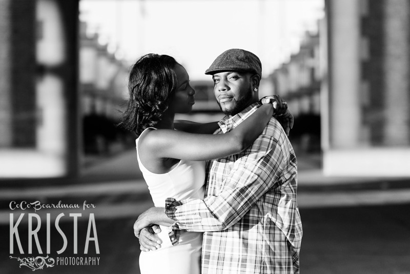 Gorgeous Boston Seaport Engagement Session - © Krista Photography - www.kristaphoto.com