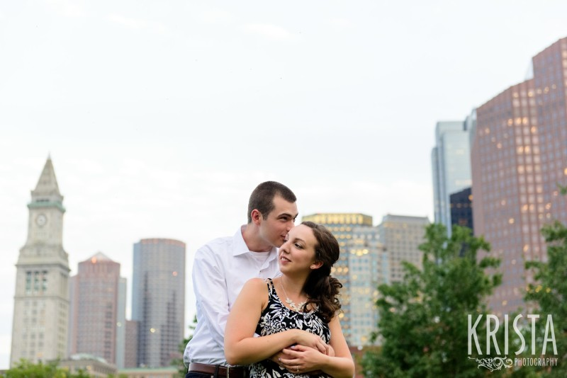 Boston Engagement Session at the Rose Kennedy Greenway  - © 2016 Krista Guenin / Krista Photography - www.kristaphoto.com - Boston Wedding Photographer