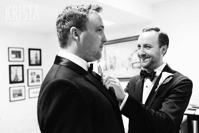 Groom Getting Ready - Beacon Hill Wedding. Boston Wedding Photographer - © 2016 Krista Photography | Allana Taranto - www.kristaphoto.com