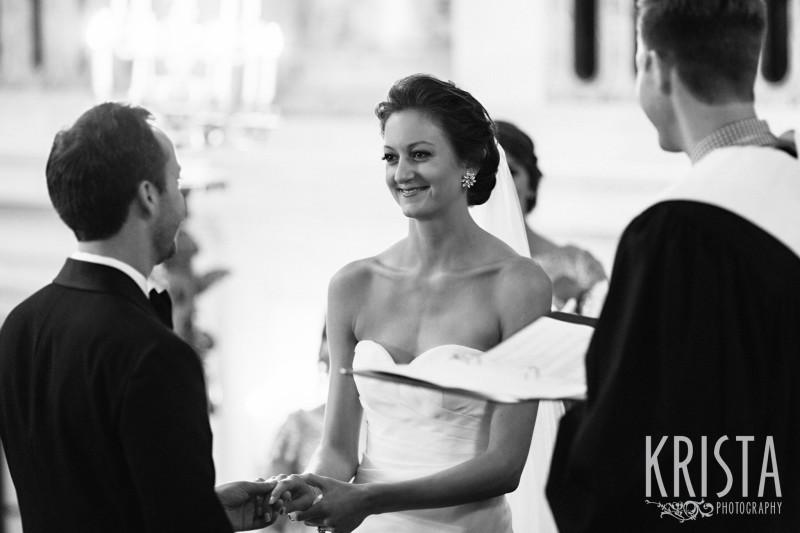 wedding vows. Wang Theater Wedding © Krista Photography, Boston Wedding Photographer - www.kristaphoto.com