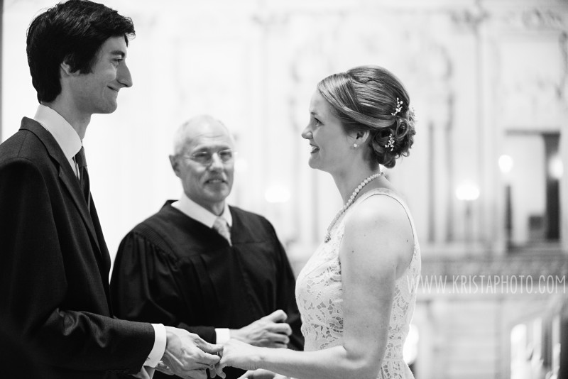 San Francisco City Hall Wedding -  © 2016 Krista Photography | Krista Guenin - www.kristaphoto.com